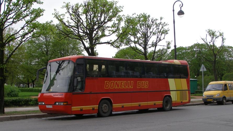 Добираемся на Bonelli Bus.