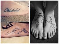 40 фото лучших татуировок, посвященных путешествиям