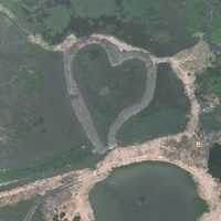 10 Красивых снимков окружающей среды в форме сердца