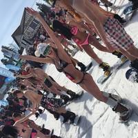 20 соблазнительных фото «голого спуска» с Шерегеша