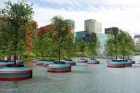 Плавающий лес в Роттердаме — это фантастика, которую претворяют в жизнь