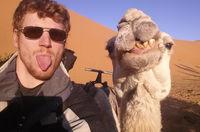 24 самых оригинальных и веселых селфи из путешествий