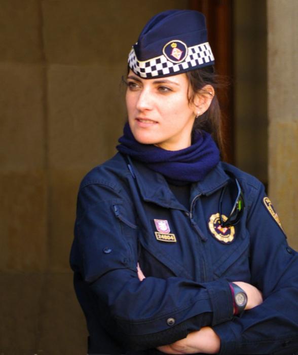 Горячие девушки полицейские