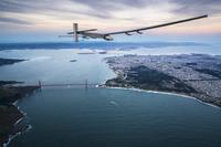 Уникальный самолет на солнечных батареях «Солнечный Импульс-2»
