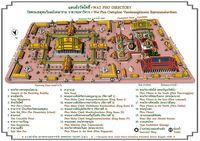 Схема Храмового комплекса Ват Пхо