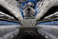 13 потрясающих снимков незабываемого стокгольмского метрополитена