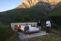 В Швейцарии открыли первый в мире open-air отель