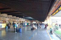 Пассажиров на вокзале Санта Мария Новелла всегда много