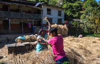 Непальский быт горных деревушек