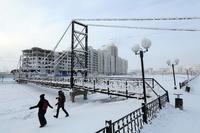 10 ошарашивающих фото о том, как выглядит обычный зимний день в Якутии