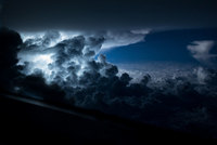 10 захватывающих фото, сделанных пилотом из кабины самолета