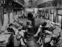 20 прекрасных ретрофото о том, какими роскошными были раньше путешествия в поездах