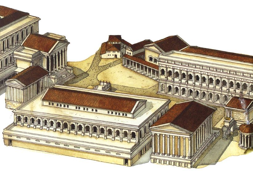 a look at major architecture of the ancient roman empire The social structure of ancient rome was  women were expected to look after the houses  on the frontiers of the empire, roman generals served as.