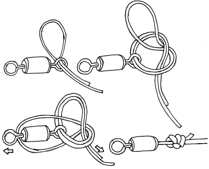 Каким узлом привязать поводок