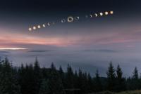 10 самых потрясающих и креативных снимков солнечного затмения 2017