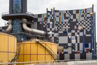 Мусоросжигательный завод Шпиттелау — симбиоз технологий, экологичности и искусства