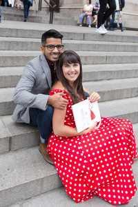 Парень сделал самое красивое предложение девушке в нью-йоркском музее Метрополитен