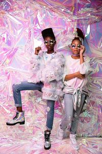 Портреты афроамериканских девочек в стиле барокко — божественная красота