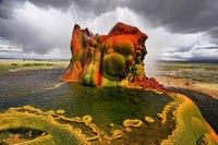 Чудо Невады: скважина для колодца, превратившаяся в гейзер
