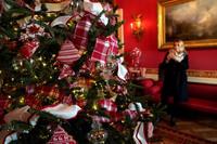 Как первая леди США Мелания Трамп украсила Белый дом к Рождеству
