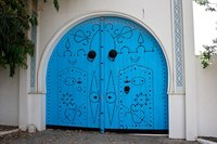 Ворота в Сиди-бу-Саид, Тунис