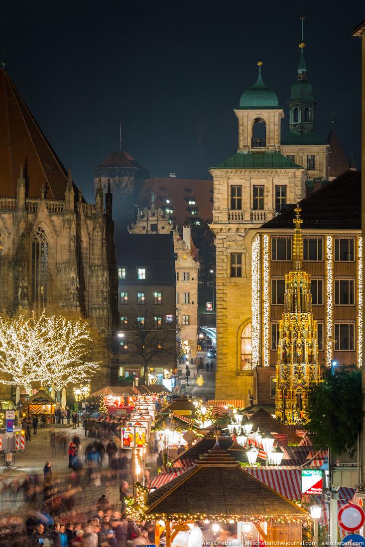 Европа включает Рождество
