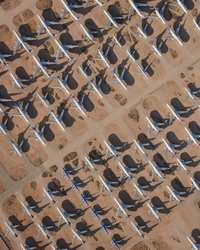 13 завораживающих фото симметричной красоты аэропортов с высоты полета