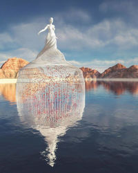 10 невероятных скульптур Чада Найта, которых не существует на самом деле