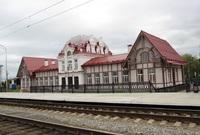 Вокзал в Верхотурье