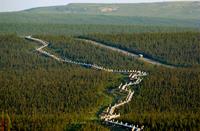 Гениальное детище русского инженера в Америке: сейсмоустойчивый нефтепровод Аляски