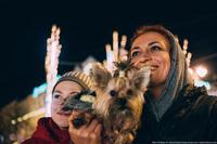 Как выглядит рождественский Киев