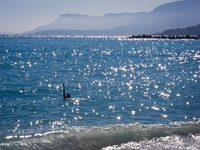 Тёплое тунисское море