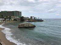 Январский пляж на Крите