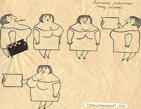Как выглядели рабочие эскизы к советским мультфильмам
