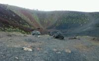 Один из кратеров Этны