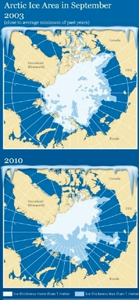 Неожиданные последствия: США и Канада замерзают из-за потепления в российской Арктике