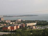 Вид на Геленджикскую бухту с гор
