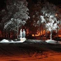 Памятник Святым благоверным князю Петру и княгине Февронии Муромским