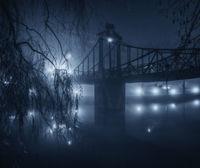 Мистические фотографии ночного польского города, покрытого туманом