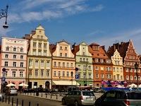 Дома на Рыночной площади, Вроцлав, Польша
