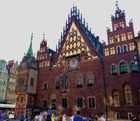 Ратуша на Рыночной площади, Вроцлав, Польша