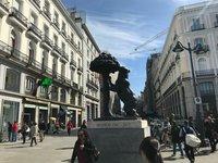 На площади Пуэрто-дель-Соль