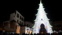 Новогодняя елка в Бари