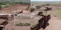 Огромные трещины в Кении: новые проявления разлома, который раскалывает Африку