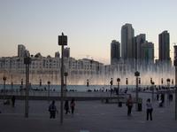 Дубай — музыкальный фонтан