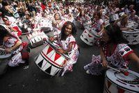 На карнавале в Ноттинг Хилл