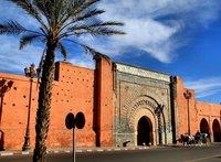 Городские ворота в Марракеше