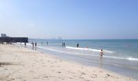 Аджман, пляжная зона