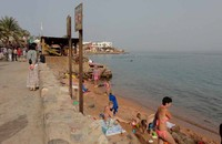 Дахаб, я на пляже