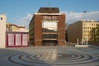 Главный фасад концертного зала